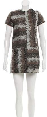 Bonnie Young Patterned Mini Dress