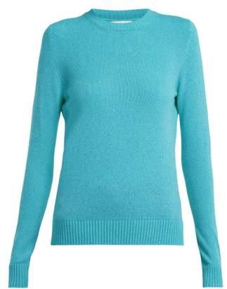 Barrie - Arran Pop Cashmere Sweater - Womens - Blue