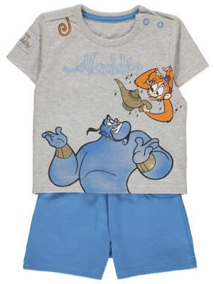 Aladdin George Disney Genie T-Shirt and Shorts Outfit
