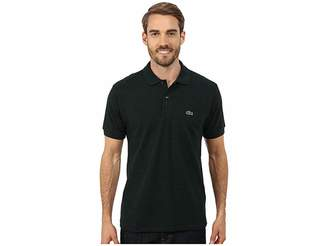 Lacoste Short Sleeve Classic Fit Chine Pique Polo Shirt Men's Short Sleeve Pullover