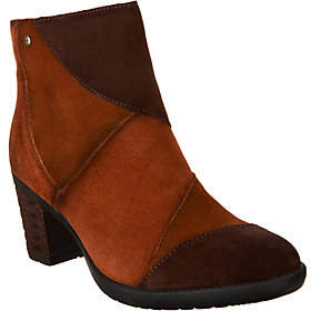 Earth Patchwork Suede Ankle Boots Malta