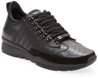 DSQUARED2 Vitello Gommato Sneaker