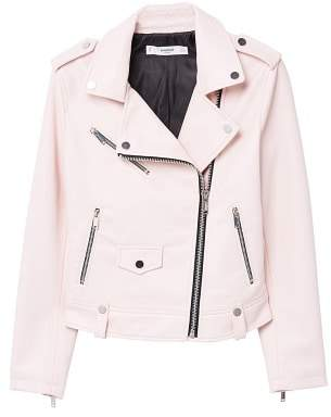 MANGO Appliqu?? biker jacket