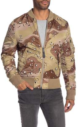 Alpha Industries Double Camo Reversible Bomber Jacket