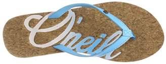 O'Neill Women's FW Logo Cork FLIP Flops