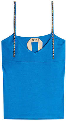 N°21 N21 Knit Camisole with Embellished Straps