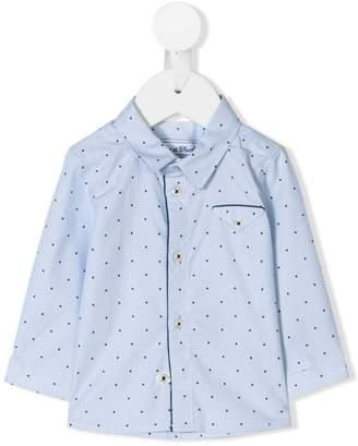 Tartine et Chocolat polka dot print shirt