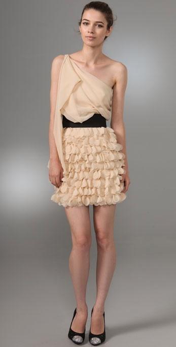 Foley + Corinna Asymmetrical Party Dress