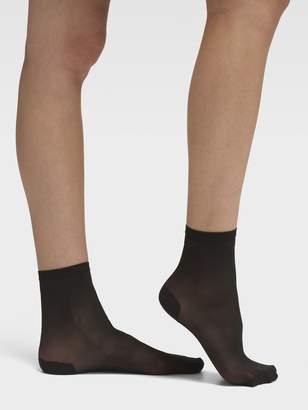 DKNY Stripe Tip Sheer Anklet - Multipack