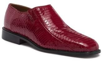 Giorgio Brutini Felix Plain Toe Genuine Snakeskin Slip-On Loafer