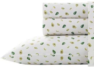 Poppy & Fritz Avocados Green Sheet Set, Queen
