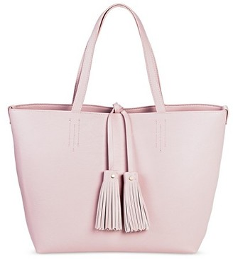 Merona Women's Tote with Pouch $44.99 thestylecure.com