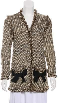 Lanvin Knit Evening Jacket