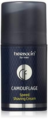 Herbacin Camouflage Paraben Free Men's Care Speed Shaving Cream