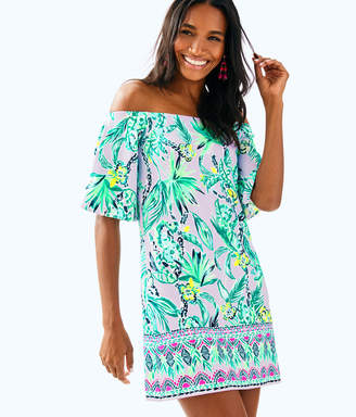 Lilly Pulitzer Fawcett Off The Shoulder Dress