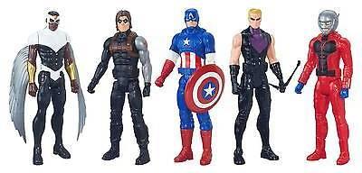 Avengers Marvel Titan Hero Series Captain America 5 Pack