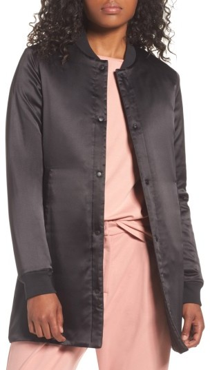Women's Puma Long Quilted Track Jacket