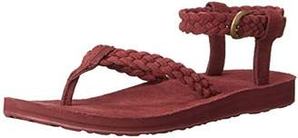Teva Women's W Original Suede Braid Ankle Strap Sandal