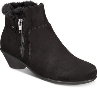 Karen Scott Ursah Cone-Heel Booties, Women Shoes