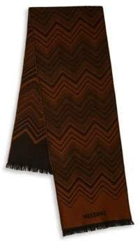Missoni Stripe Zigzag Wool Scarf