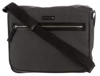 Montblanc Leather-Trimmed Messenger Bag