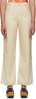 Eckhaus Latta Multicolor Wide Leg Jeans