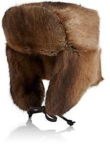 Crown Cap MEN'S FUR TRAPPER HAT-NEUTRAL SIZE XL