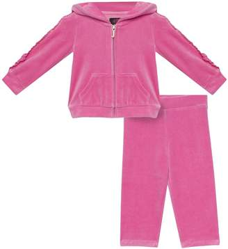 Juicy Couture Velour Floral Cameo Track Set for Baby