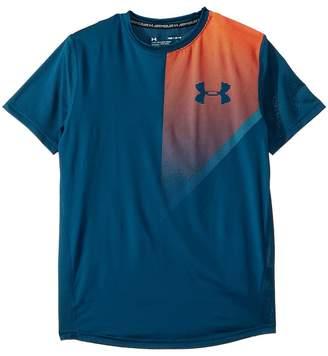 Under Armour Kids Raid Short Sleeve Tee Boy's T Shirt