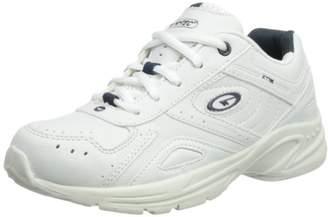 Hi-Tec Unisex XT115 Junior Fitness Shoes - Black (Black/Charcoal 021), (34 EU)