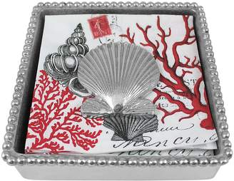 Mariposa Scallop Shell Napkin Box