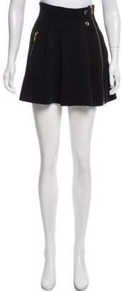 Sonia Rykiel Sonia by Zip-Up Mini Skirt