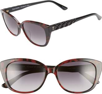 Juicy Couture 54mm Cat Eye Sunglasses