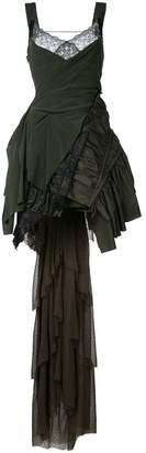 A.F.Vandevorst layered train dress