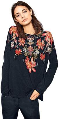 Creation L Floral Print Sweater