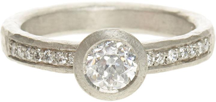 Malcolm Betts Diamond and Platinum Ring