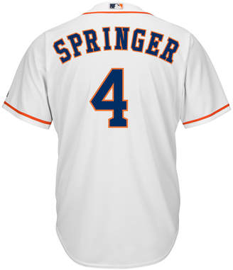Majestic Men George Springer Houston Astros Replica Jersey