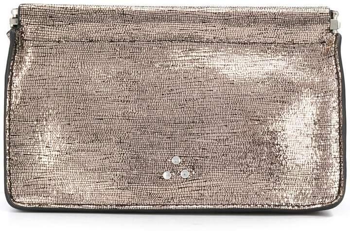 Jérôme Dreyfuss metallic mini clutch bag