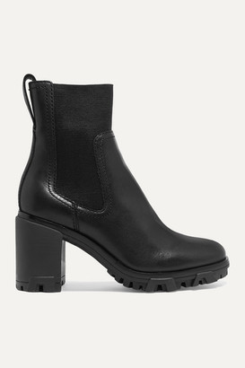 Rag & Bone Shiloh High Leather Ankle Boots - Black