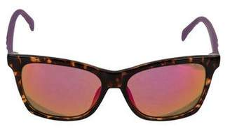 Just Cavalli Mirrored Wayfarer Sunglasses