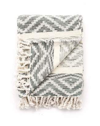 Premier Housewares cascade home navajo hand woven throw