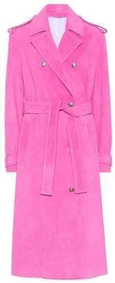Calvin Klein Suede coat
