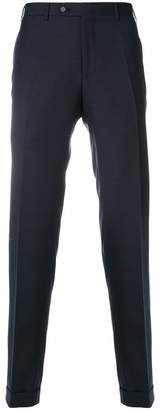 Canali checked tailored trousers