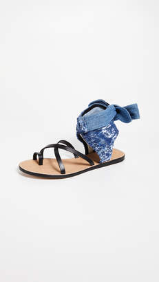 IRO Talita Sequin Wrap Sandals