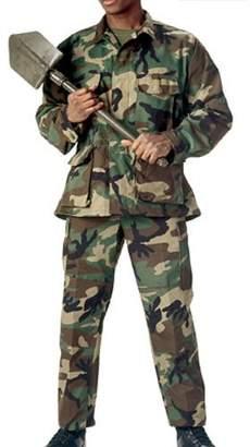 Rothco Camo BDU Pants, MultiCam - 2X Large