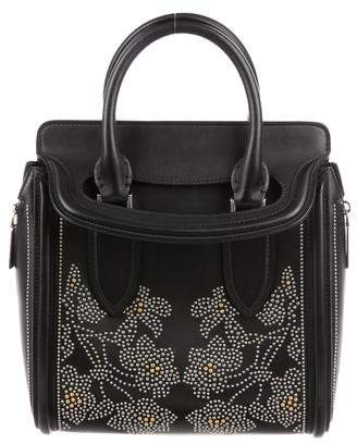 Alexander McQueen Embellished Heroine Bag