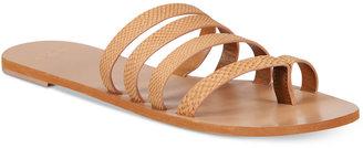 Roxy Mattie Strappy Sandals $36 thestylecure.com