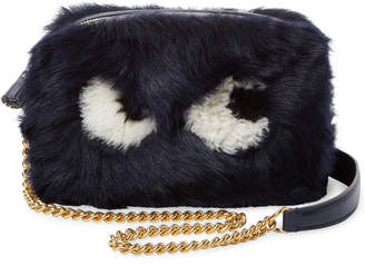 Anya Hindmarch Eyes Mini Shearling Crossbody