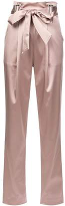 Sally Lapointe bow waist trousers