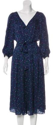 Rebecca Taylor Silk Devoré Dress w/ Tags